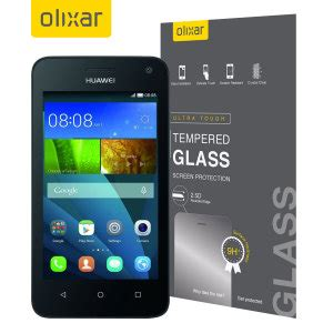 Tempered Glass Huawei Y3 olixar huawei y3 tempered glass screen protector