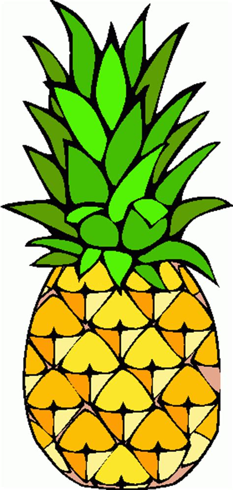 clipart pineapple pineapple clipart black and white clipart panda free