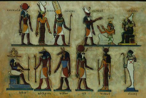 imagenes de divinidades egipcias historia de egipto dioses egipcios