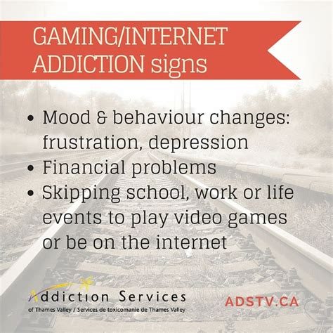 7 Signs You An Addiction Problem by 22 Best Images About Gaming Disorders Problem