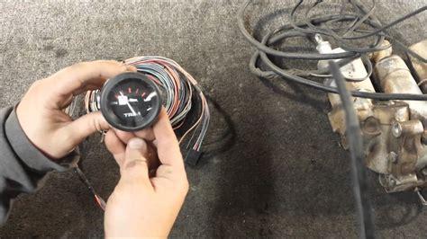 qa   hook  connect power trim tilt