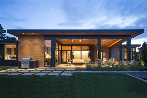 home design courses modern golf course home hmh architecture interiors archinect