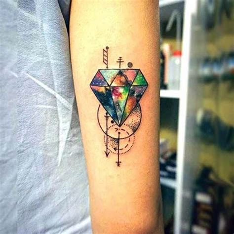 diamond tattoo on arm 23 best diamond tattoos images on pinterest tattoo ideas