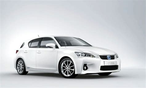 lexus hybrid ct200h lexus ct 200h hybrid official details released