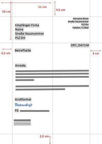 Offizieller Brief Daf so baust du einen offiziellen brief auf kurse