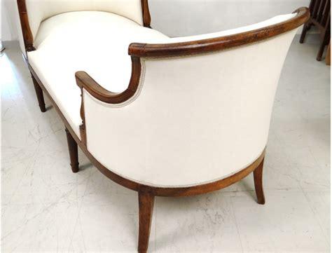 chaise bateau superbe duchesse en bateau chaise longue merisier