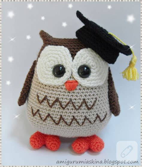 free crochet pattern amigurumi graduation owl free crochet pattern graduation owl manet for