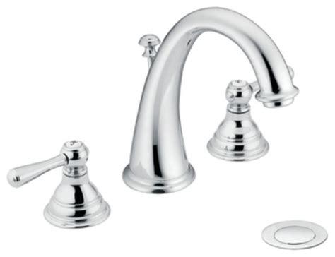 moen traditional bathroom faucet moen t6125 kingsley two handle widespread bathroom sink