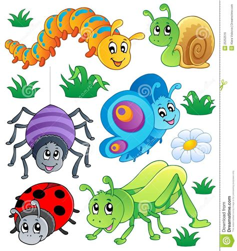one bed bug cute bugs collection 1 royalty free stock image image 25252516