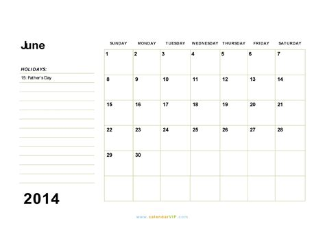 printable calendar 2014 word june 2014 calendar blank printable calendar template in