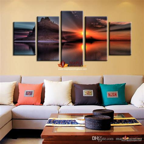 decoration pieces for home home decoration wall painting of seascape artwork for