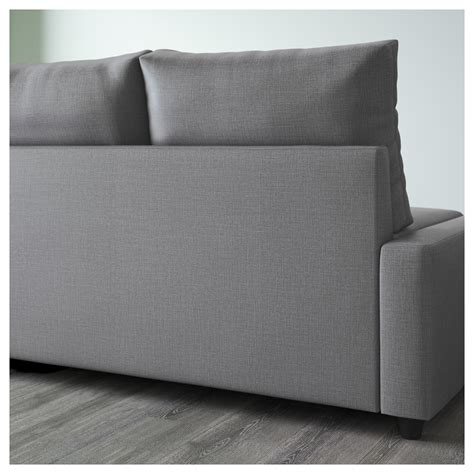 Ikea Sofa Bed Storage Friheten Corner Sofa Bed With Storage Skiftebo Grey Ikea