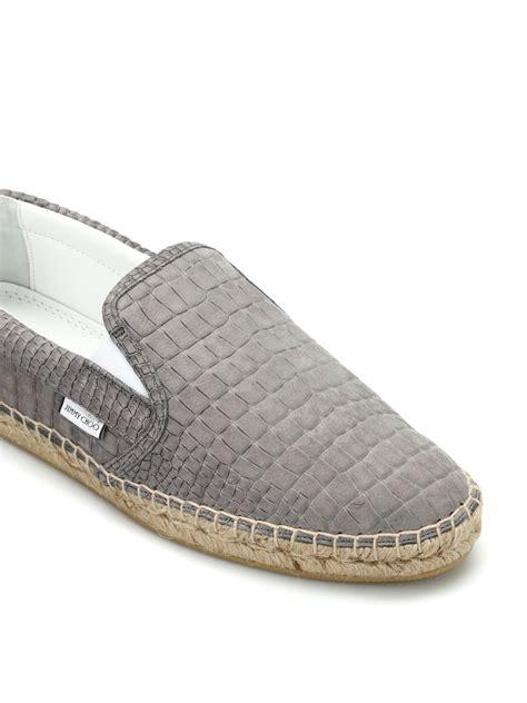 Tas Jimmy Choo Original vlad croco print slippers by jimmy choo espadrilles ikrix