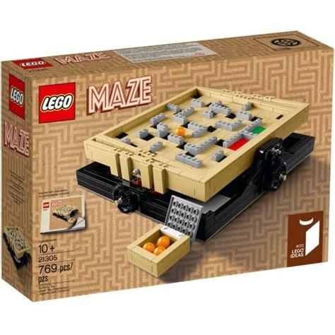Lego 21305 Maze Cuuso Lego Ideas lego ideas 21305 maze fm toys