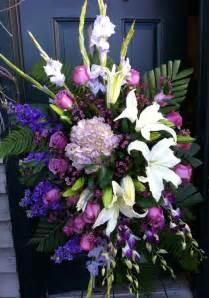 funeral colors 25 best ideas about funeral flower arrangements on