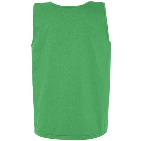 comfort colors green comfort colors 9360 garment dyed heavyweight ringspun tank