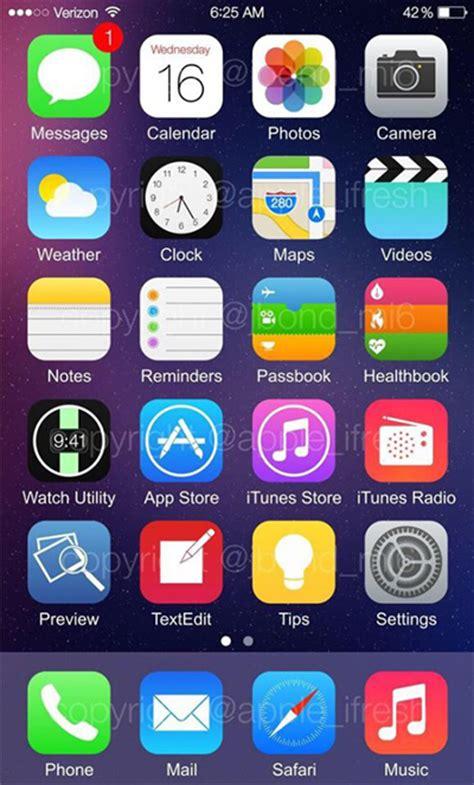 imagenes iphone ios 8 aparece ios 8 en un supuesto iphone 6