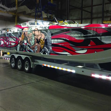 Wall Murals Stencils boat wraps amp graphics speed demon hot rod shopspeed