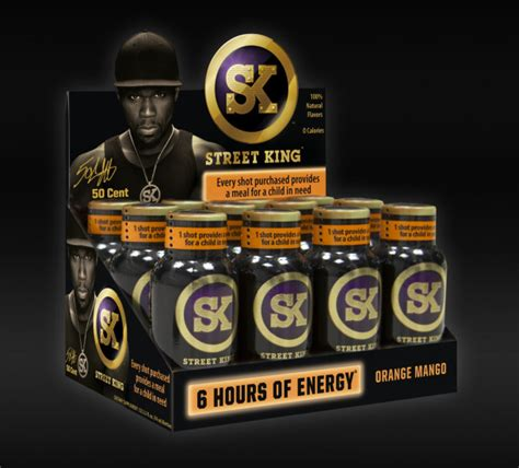 energy drink 50 cent pepsi to distribute 50 cent s king energy drink