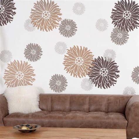starburst zinnia flower stencil flower stencil designs