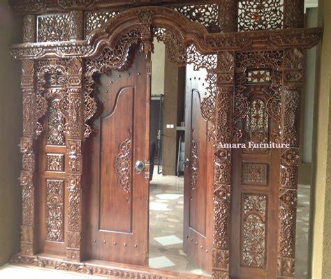 Depan Jati Minimalis Ukiran Jepara gebyok ukiran jati jepara gjj03 mewah 3 dimensi 2016 mebel jati furniture jepara furniture