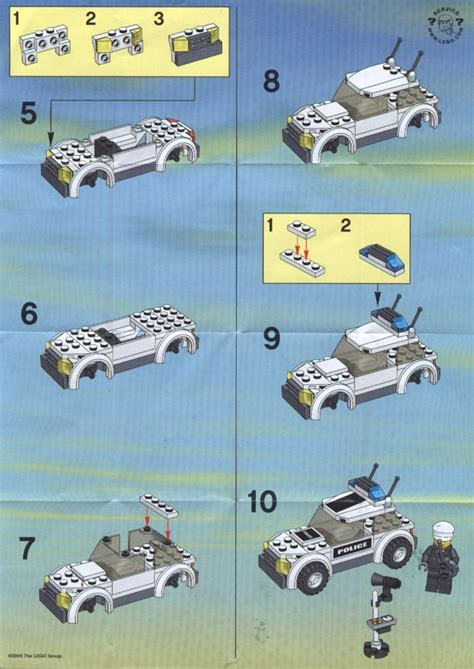 police jeep instructions city police car 7236 instructions www pixshark com