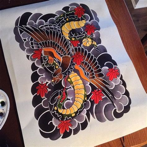 eagle japan tattoo tattoos by ellie richmond birmingham uk