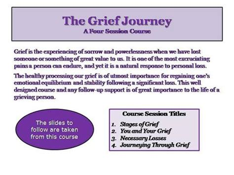 grief demystified an introduction books grief journey website introduction authorstream