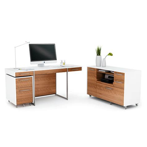 bdi format walnut modern office set eurway furniture