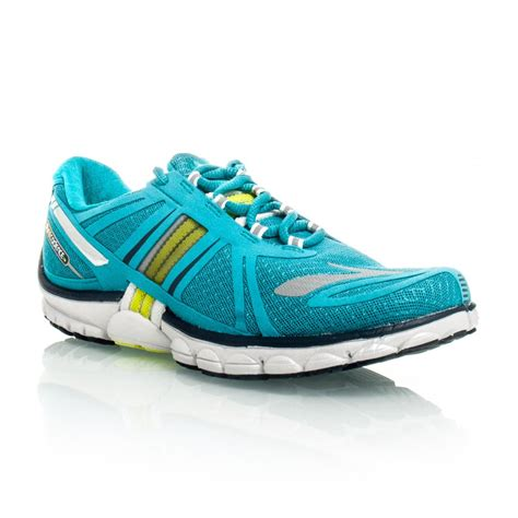 purecadence running shoes purecadence 2 womens running shoes teal yellow