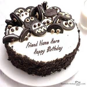 oreo kuchen write name on oreo birthday cake happy birthday wishes