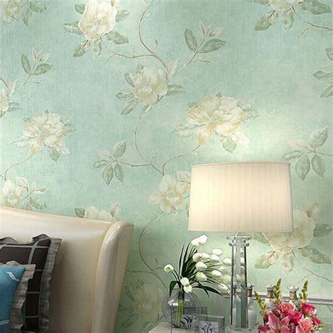 Fresh Country Romantic Wedding Room Decor Wallpaper