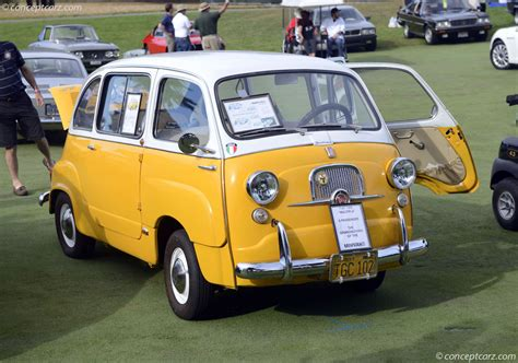 1958 fiat 600 multipla pictures history value research
