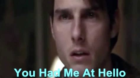 movie quotes hello movies love quotes jerry maguire quot you had me at hello