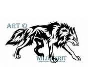 Stalking Tribal Wolf Tattoo By WildSpiritWolf On DeviantArt