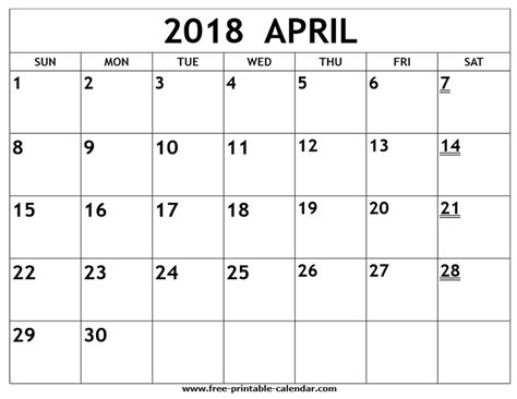 printable 2018 april calendar military bralicious co