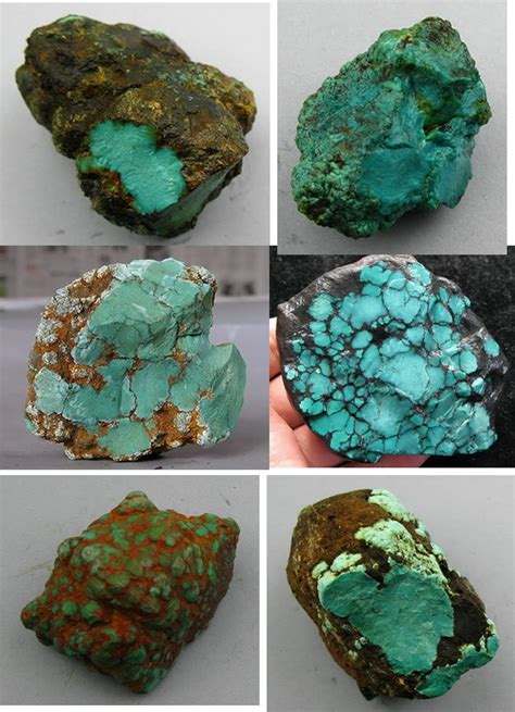 types of turquoise stones pictures to pin on
