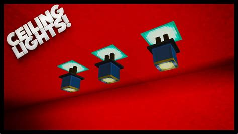 minecraft ceiling lights minecraft how to make lighting ceiling lights
