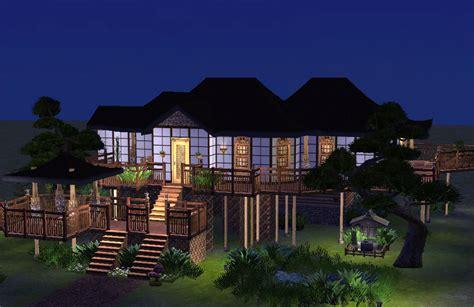 asian house mod the sims japanese asian house no cc