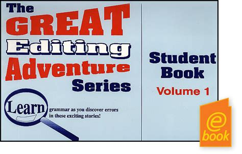 the seven the oloris series volume 1 books the great editing adventure series vol 1 student book