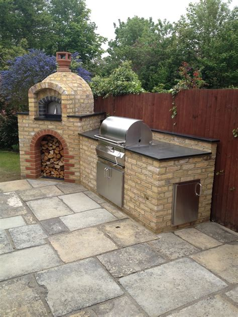 outdoor kitchen designs with pizza oven primo 60 wood fired pizza oven by the stone bake oven