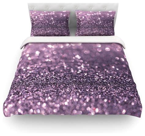 sparkle bedding debbra obertanec quot lavender sparkle quot purple glitter duvet