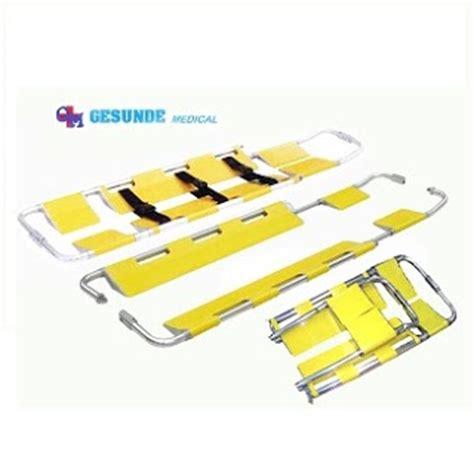 Aluminium Scoop Stretcher 9 11 alat kesehatan grosir harga scoop stretcher almunium ydc 4b