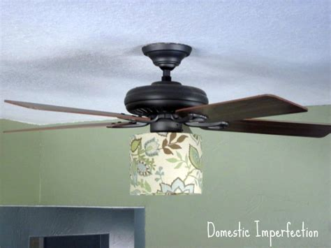 Domestic Ceiling Fans by Ceiling Fan Lshades Second Time S The Charm