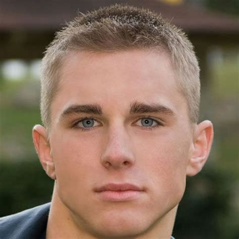 Crew Cut Hairstyle by S Crew Cut Hairstyle