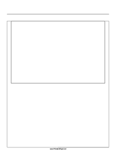 printable paper net storyboard printable storyboard with 1x1 grid of 3 2 35mm photo