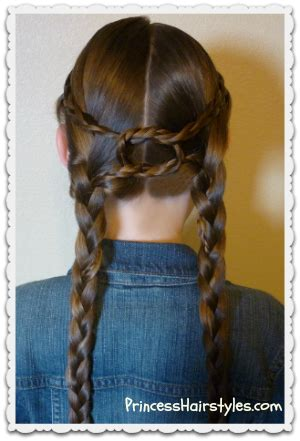 cute hairstyles for horses equestrian braids double braid knotted hairstyle