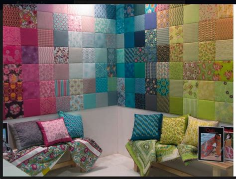 Patchwork Wall - patchwork fabric walls walls ceilings and doors
