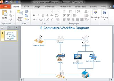 powerpoint workflow workflow diagram in powerpoint image collections how to