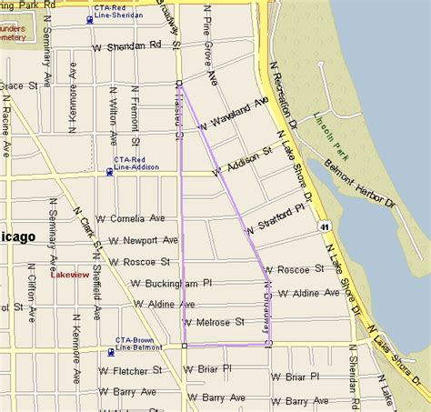 chicago map lakeview boystown real estate for sale